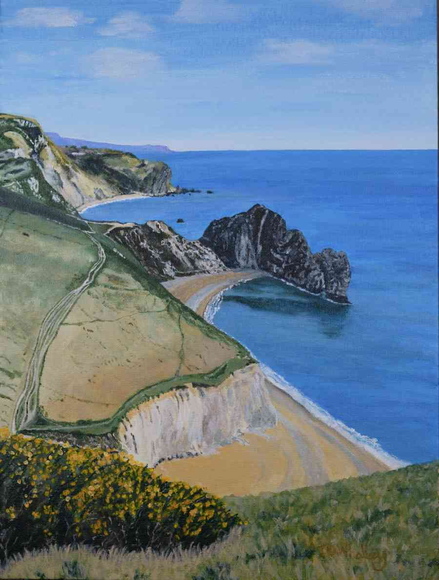 View Over Durdle Door